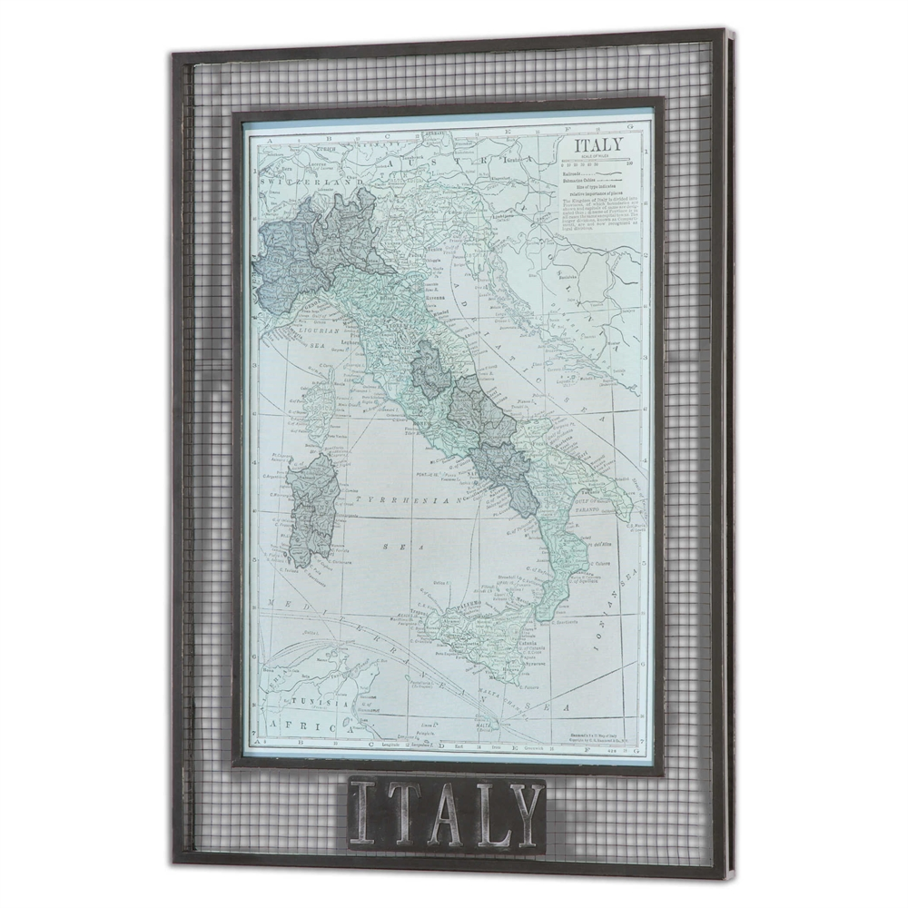 Italy Map Wall Art.Italy Map Wall Art Light Source Etc